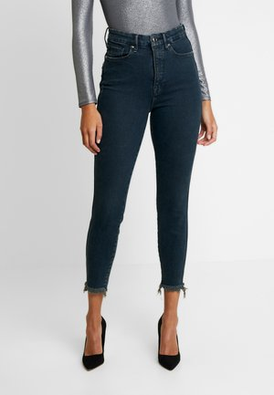 GOOD CURVE WITH RAW EDGE - Jeans Skinny - blue