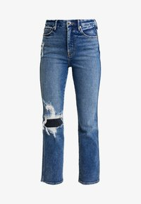 Good American - GOOD CURVE - Jean droit - blue - 4