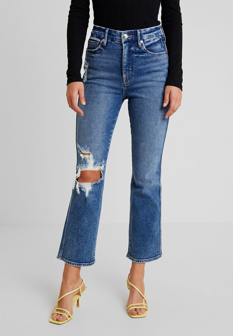 Good American - GOOD CURVE - Jean droit - blue