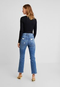Good American - GOOD CURVE - Jean droit - blue - 2