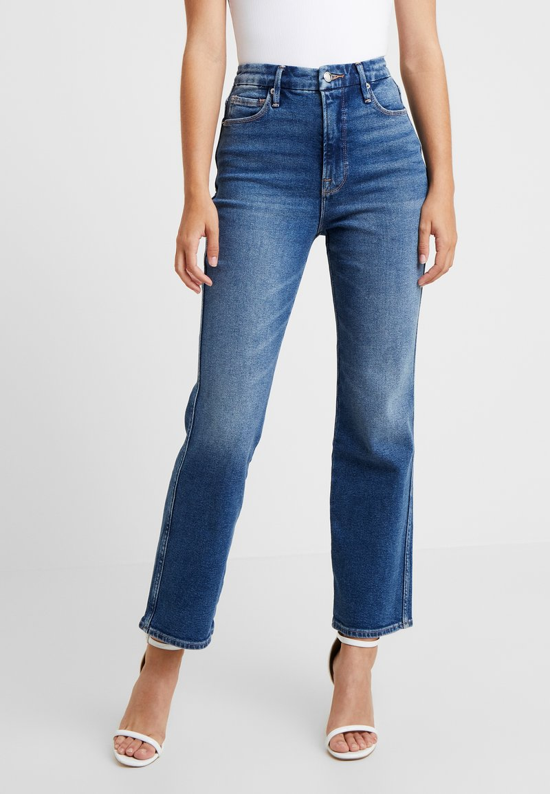 Good American - GOOD CURVE - Jeans Straight Leg - blue190