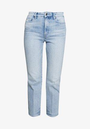 GOOD CURVE - Straight leg jeans - blue
