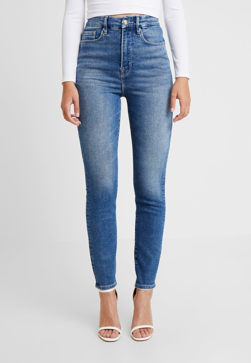 Good American - CURVE - Jeans Skinny Fit - blue
