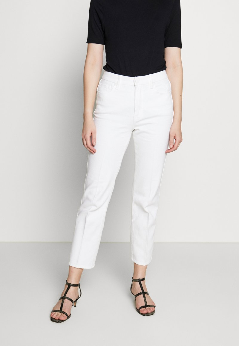 Good American - GOOD CURVE  - Straight leg jeans - white