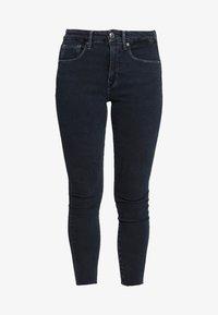 Good American - LEGS CROP RAW EDGE - Jeans Skinny Fit - blue - 3