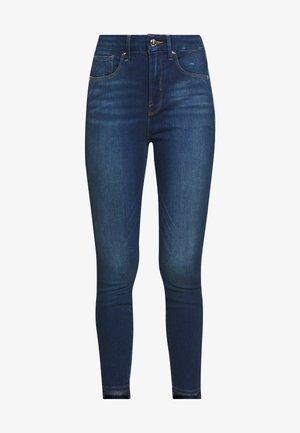 GOOD WAIST STEP HEM - Skinny džíny - blue