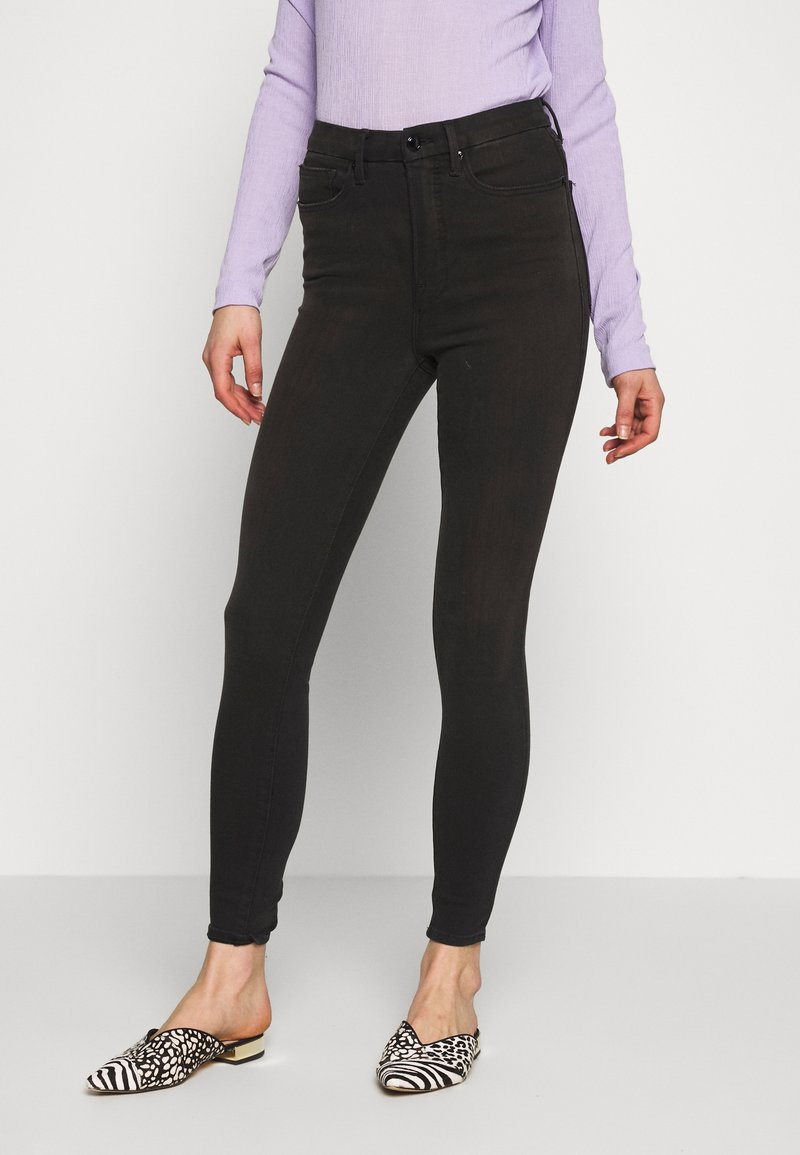 Good American - GOOD WAIST EXTREME AT BACK - Jeans Skinny Fit - black