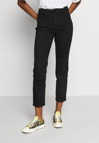 Good American - Straight leg jeans - black - 0
