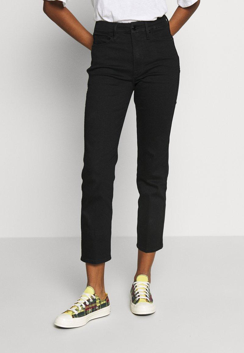 Good American - Straight leg jeans - black
