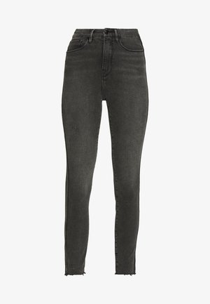 CURVE RAW EDGE - Jeans Skinny Fit - black