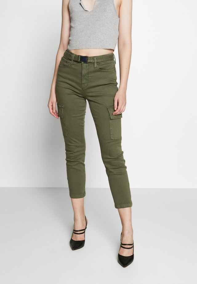 GOOD LEGS - Relaxed fit jeans - olive
