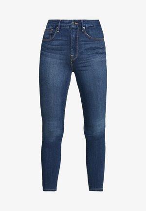 GOOD WAIST CROP - Skinny džíny - blue denim