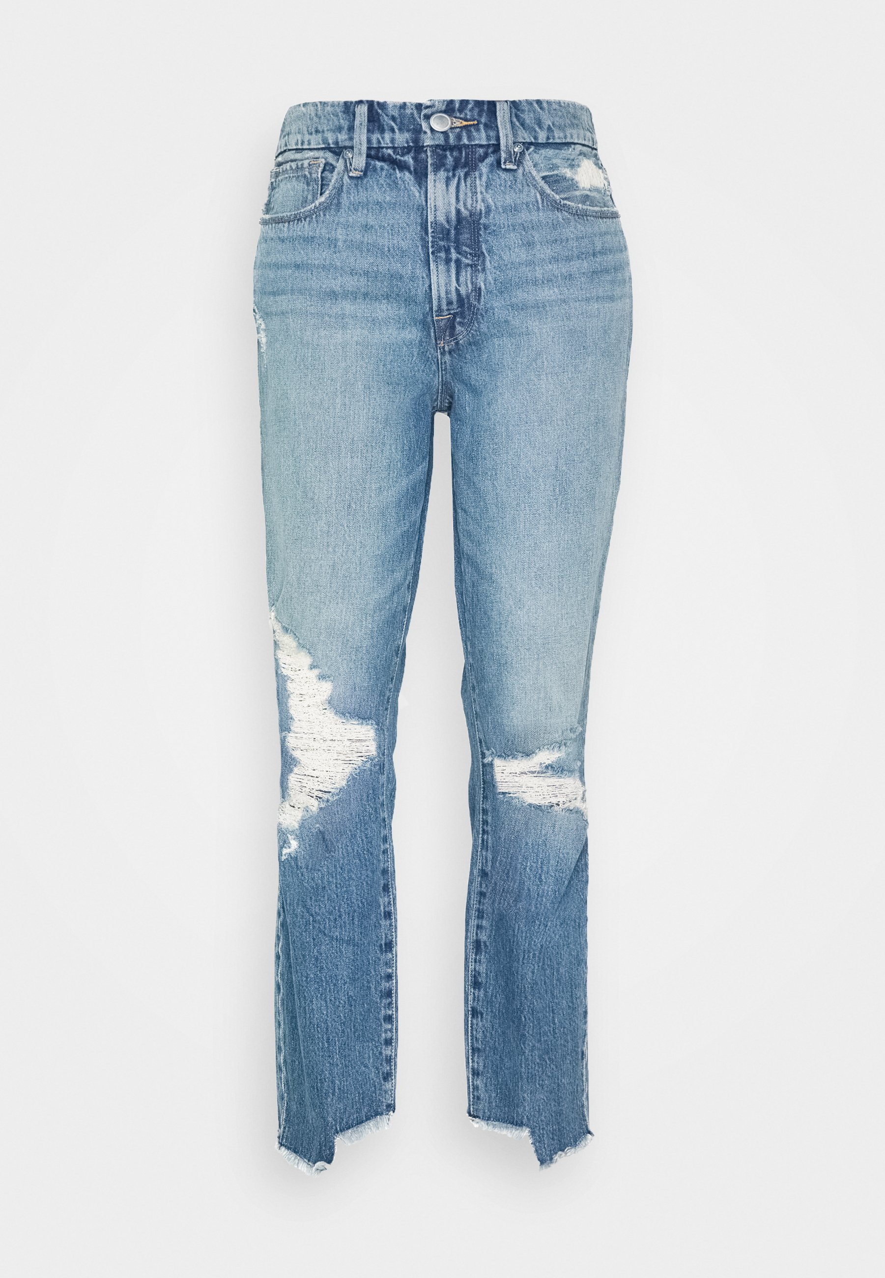 Good American Vintage Side Step - Relaxed Fit -farkut Blue