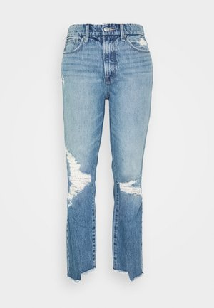 GOOD VINTAGE SIDE STEP - Relaxed fit jeans - blue