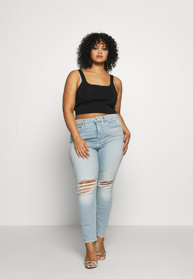 GOOD LEGS CROP - Jeans Skinny Fit - blue