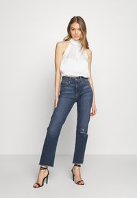 Good American - GOOD  - Jeans straight leg - blue - 1