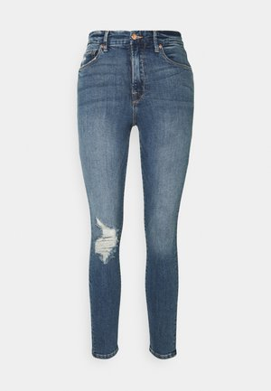 GOOD WAIST - Jeans Skinny - blue