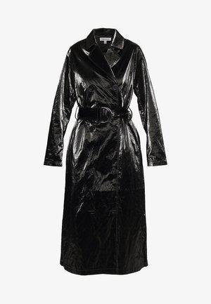 PAPER - Trenchcoat - black