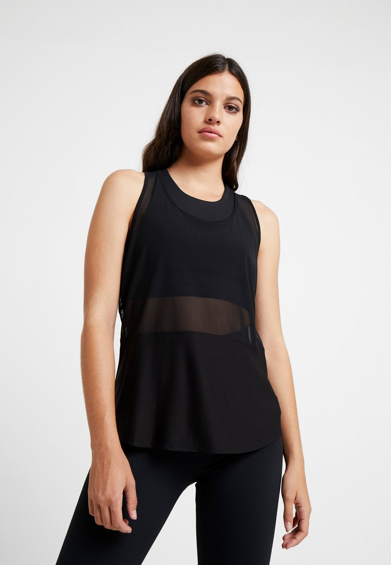 Good American - RUNNING TANK - Toppe - black