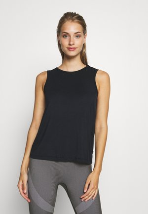 OPENBACK TANK - Top - black