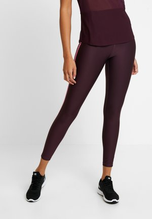 THE CORE STRENGTH - Tights - bordeaux