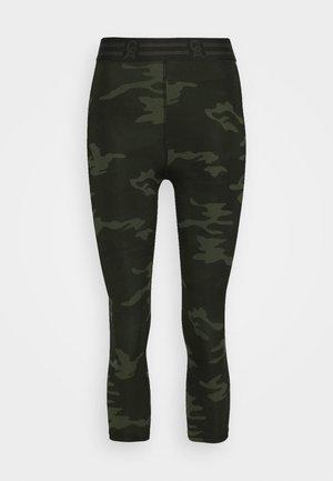ICON CAPRI - 3/4 sports trousers - khaki