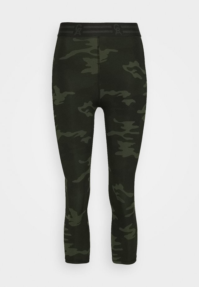 ICON CAPRI - Legging - khaki