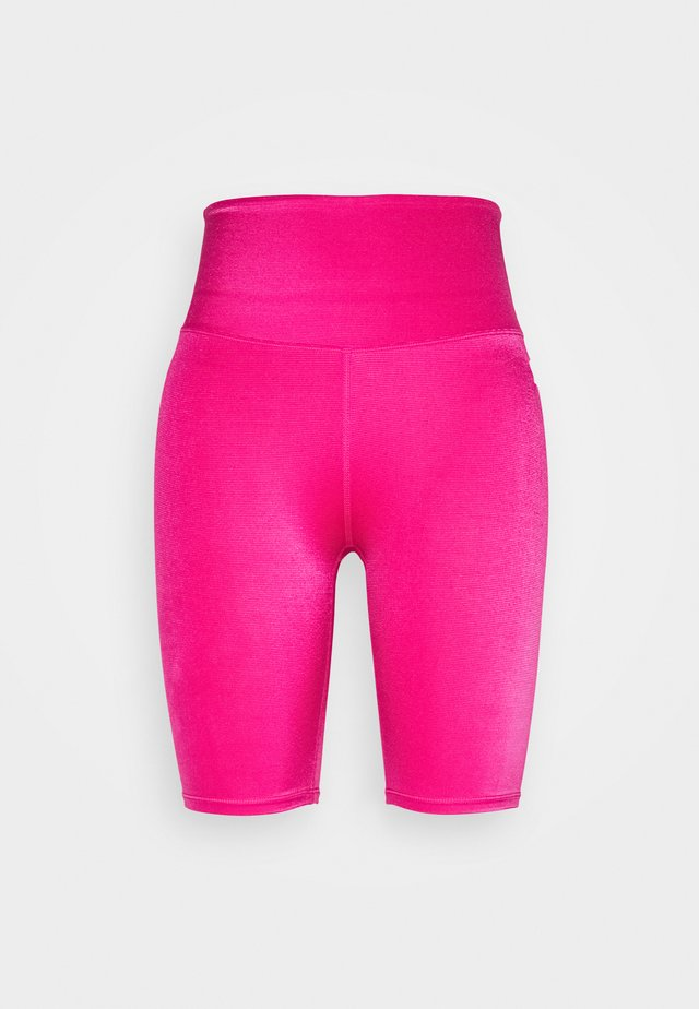SHINY BIKE - Pantaloncini sportivi - electric pink