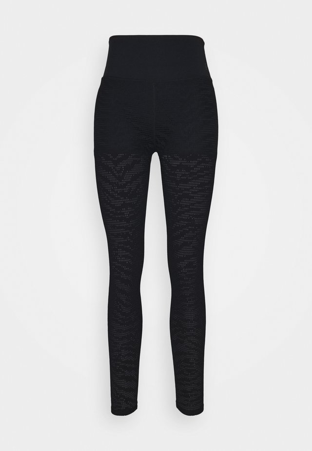 ZEBRA LEGGING - Collant - black
