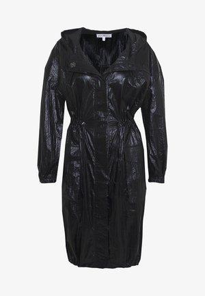 METALLIC DUSTER - Training jacket - black