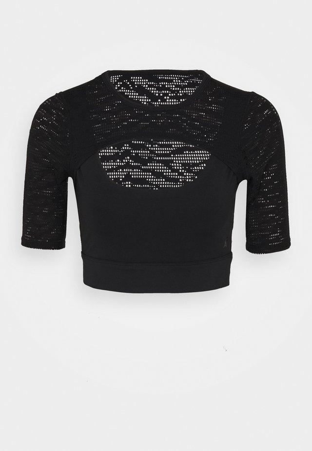 ZEBRA - T-shirt med print - black