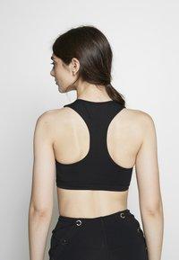 Good American - ASCENDING DOT BRA - Sports bra - black - 2