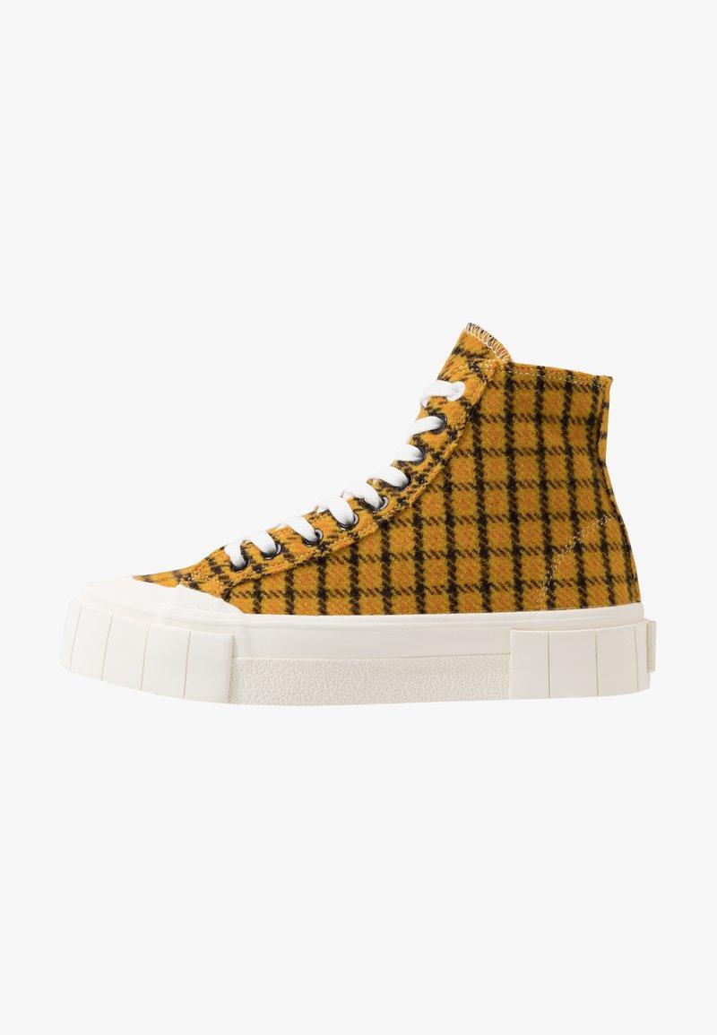 Good News - SOFTBALL - Zapatillas altas - dark yellow