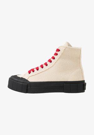 BAGGER - Sneaker high - beige/black