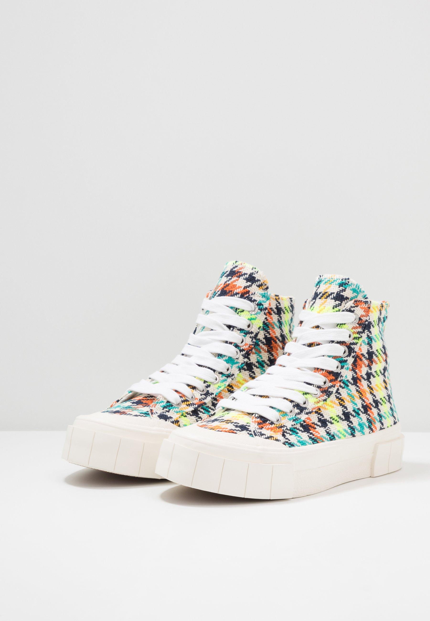 Good News Juice - Baskets Montantes Neon Check