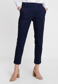 GAP - GIRLFRIEND - Chino kalhoty - true indigo - 0