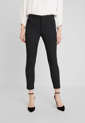 ANKLE BISTRETCH - Pantaloni - white/black
