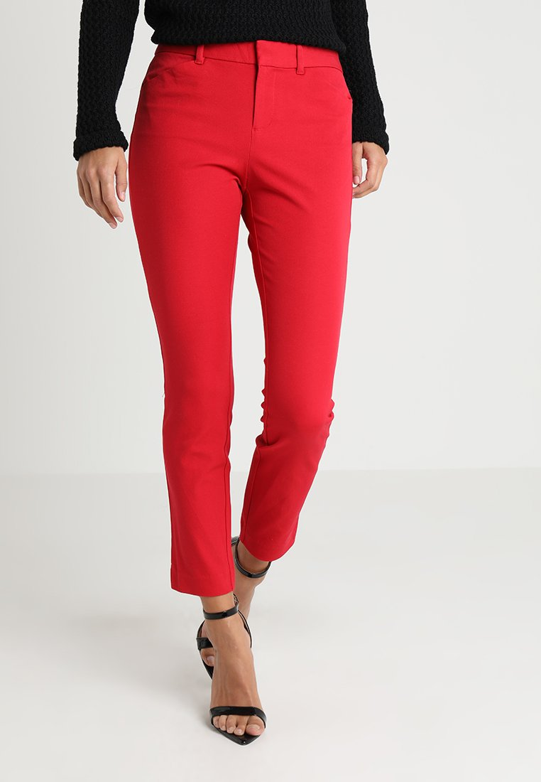 GAP - ANKLE BISTRETCH - Bukse - modern red