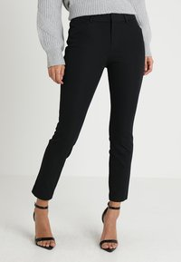 GAP - ANKLE BISTRETCH - Pantaloni - true black - 0