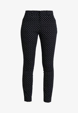 ANKLE BISTRETCH - Spodnie materiałowe - black