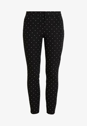 ANKLE BISTRETCH - Trousers - black