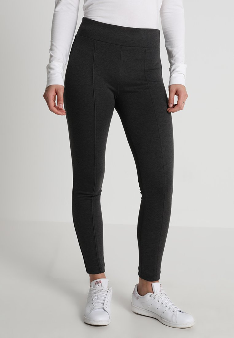 GAP - SEAMED - Leggings - dark charcoal