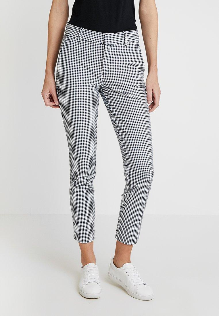 GAP - SKINNY ANKLE - Spodnie materiałowe - blue