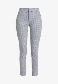 GAP - SKINNY ANKLE - Spodnie materiałowe - blue - 3