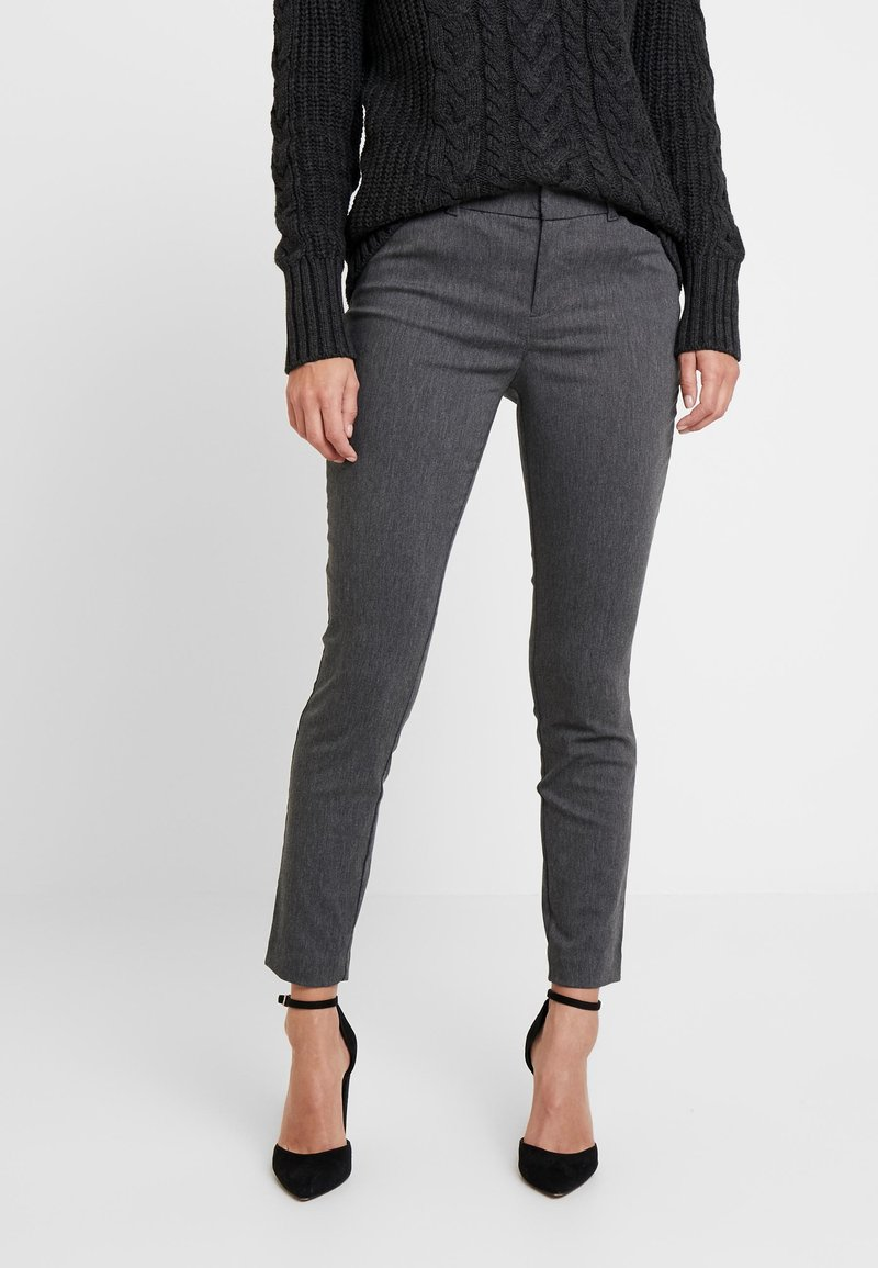 GAP - ANKLE BISTRETCH - Trousers - heather charcoal