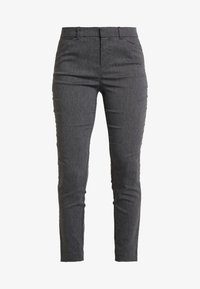 GAP - ANKLE BISTRETCH - Trousers - heather charcoal - 4
