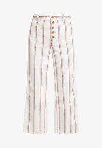 GAP - WIDE LEG CHINO SEAFARER STRIPE - Spodnie materiałowe - neutral - 4