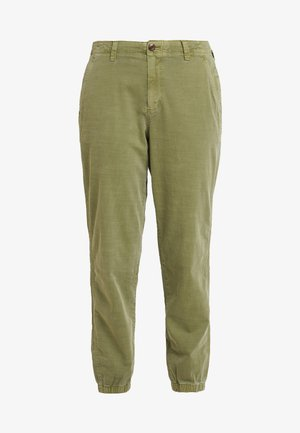 GIRLFRIEND JOGGER - Trousers - moss