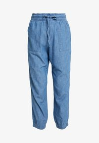 GAP - CHAMBRAY UTILITY JOGGER - Spodnie treningowe - chambray - 4
