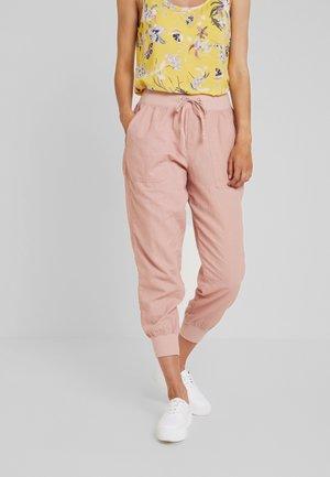 UTILITY JOGGER - Spodnie materiałowe - blush pink